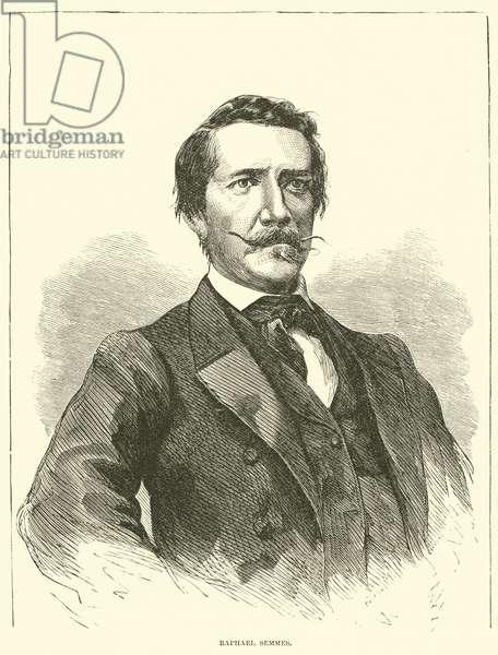 Raphael Semmes, December 1862 (engraving)