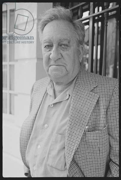 Aaron Siskind, July 1979 (b/w photo)