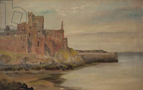 Peel Castle, 1881 (oil on canvas)
