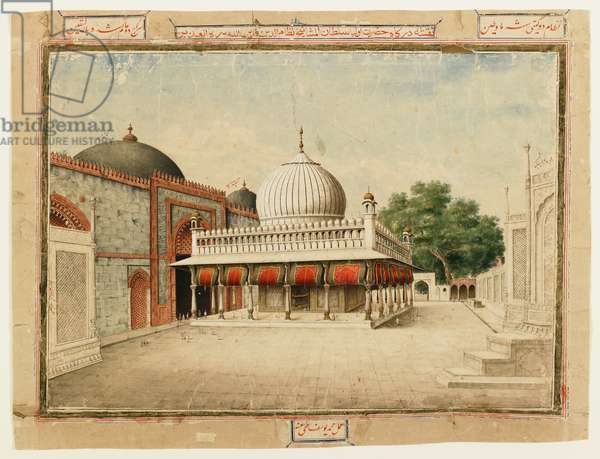 The Dargah at Nizamuddin (opaque w/c on paper)