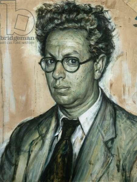 Study for Portrait of Daniel Jones, 1949 (oil on card)