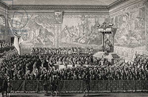 Louis XV king of France, Versailles 1776