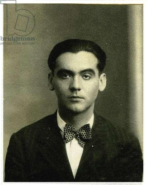 Portrait of Federico García Lorca, (1898 – 1936) (photo)