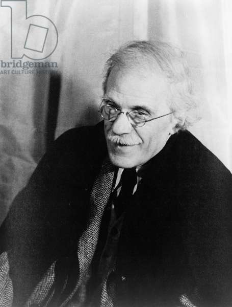 ALFRED STIEGLITZ  (1864-1946). American photographer. Photographed by Carl Van Vechten, 17 April 1935.