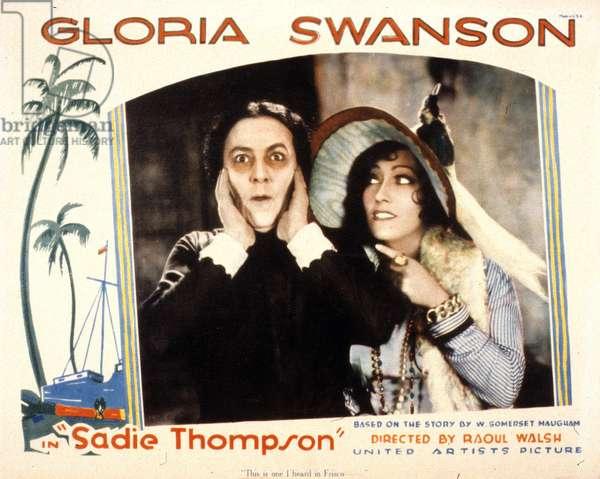 SADIE THOMPSON de Raoul Walsh avec Lionel Barrymore, Gloria Swanson, 1928