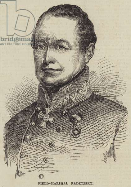 Field-Marshal Radetzsky (engraving)