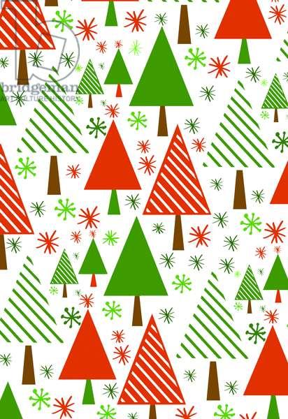 Christmas Trees, 2017, Digital Media