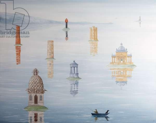 Illusions of Grandeur, 2012-13 (oil on linen)