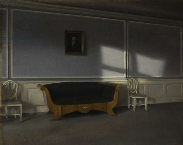Sunshine in the Drawing Room III, c.1905 (oil on canvas)