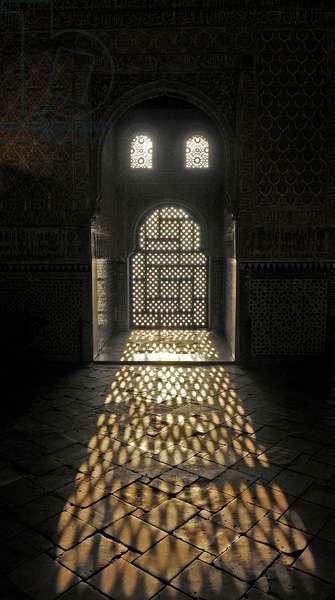 The Hall of the Ambassadors, Alhambra, Granada, Spain  2013 (photo)