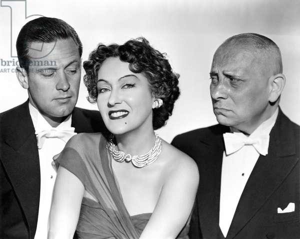 William Holden, Gloria Swanson And Eric Von Stroheim.
