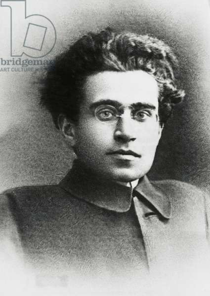 Antonio Gramsci (Ales, 1891-Rome, 1937), Italian politician, philosopher and literary critic, one of the founders of the Italian Communist Party, about 1920