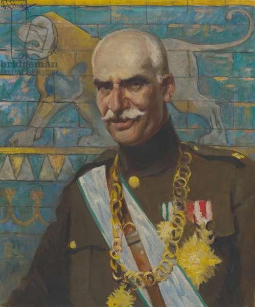 Reza Shah Pahlavi (1878 - 1944), 1938 (oil on canvas)