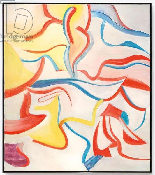 Untitled XVII, 1984 (oil on canvas)