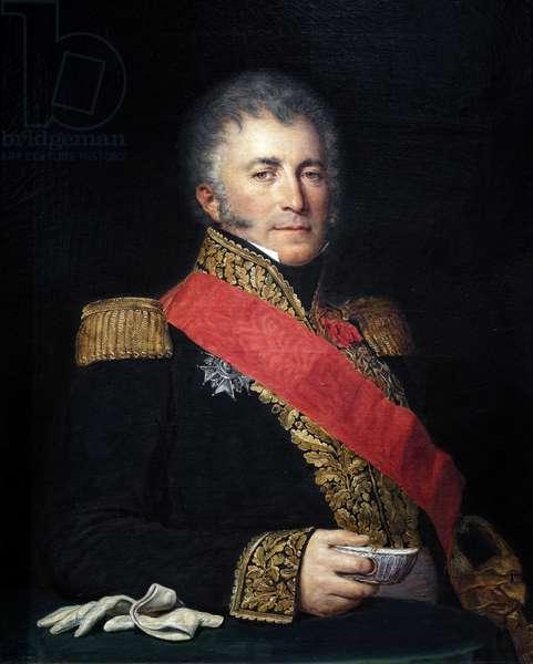 Lieutenant General Bertrand Pierre de Castex, 19th century (oil on canvas)