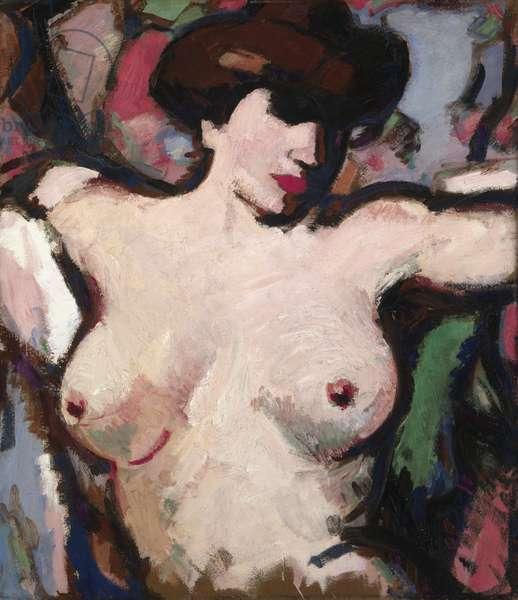 Torse de Femme, c.1911 (oil on board)