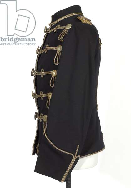 Tunic, HRH The Duke of Connaught, 3rd Zieten Hussars, German Army, pre-1914 (tunic)