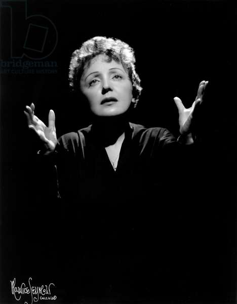 Edith Piaf, photographed on 5 September 1955