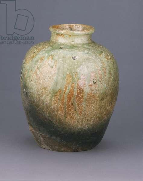 Storage Jar, 1568-1615 (stoneware with ash glaze (Iga ware))