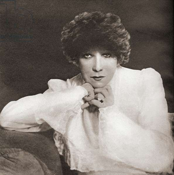 Sarah Bernhardt, from These Tremendous Years, pub.1938