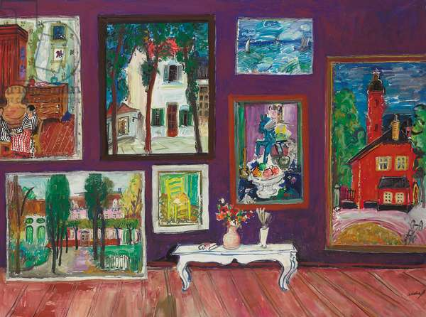 Grand Collection, 1992 (oil on canvas)