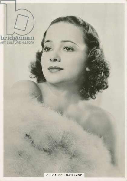 Olivia De Havilland (b/w photo)