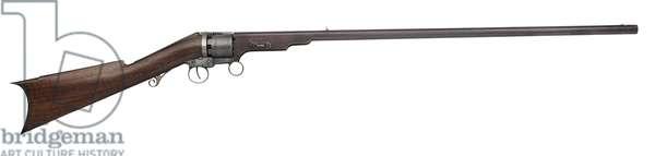 Revolving rifle, 1840 (photo)