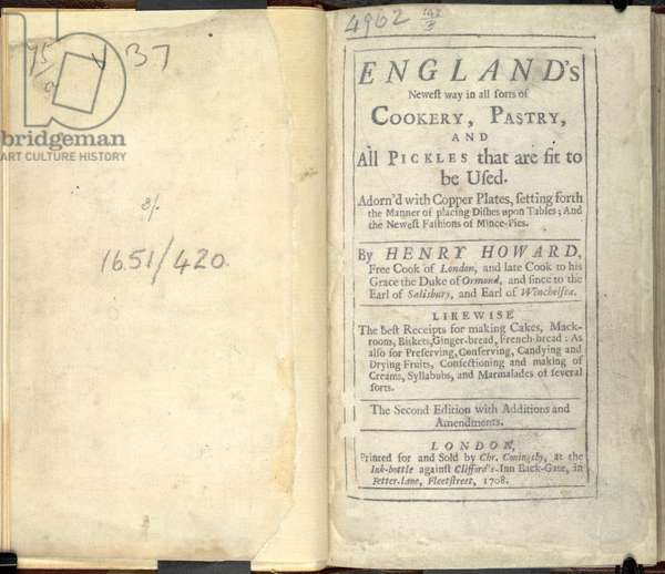 England's Newest Way in cookery