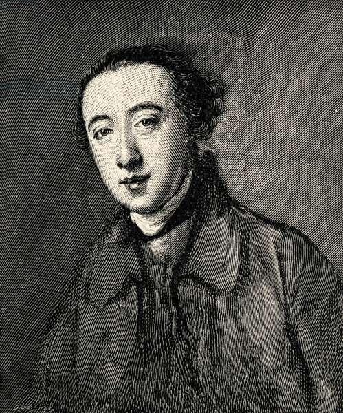 Horace Walpole - portrait