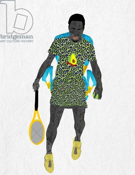 Tennis Player, 2019 (Digital)