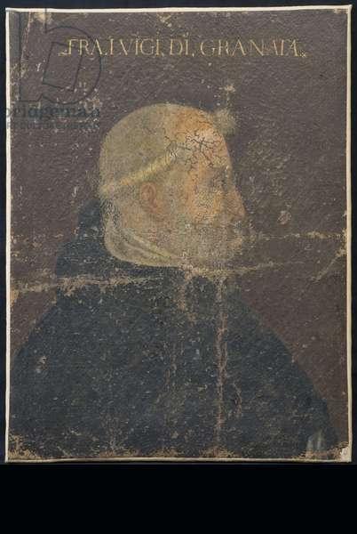 Portrait of Fra 'Luigi di Granata (Canvas, Oil painting)