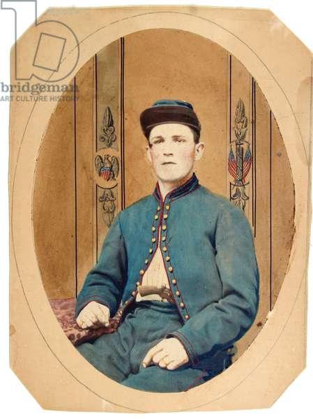 American Civil War-Private of the 95th Pennsylvania Volunteers-Gosline's Zouaves