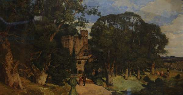 The Rookery, 1854 (oil on canvas)