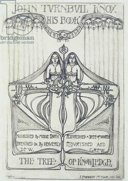 Book Plate: John Turnbull Knox: