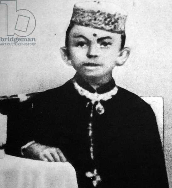 Young Mahatma Gandhi in India, India