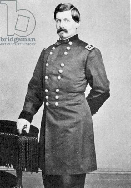 George Brinton McClellan (1826-1885) American army officer. General on Unionist (Northern) side during  American Civil War 1861-1865.
