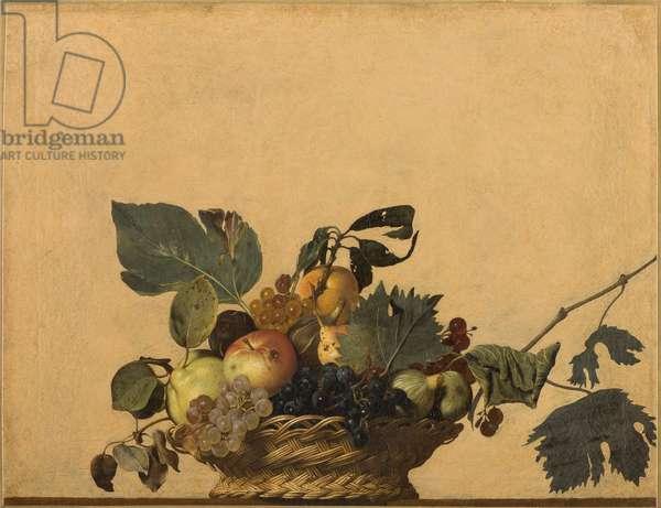 Basket of Fruit, 1594-98 (oil on canvas)