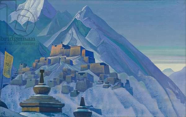 Tibet. Himalayas, 1933 (tempera on canvas)