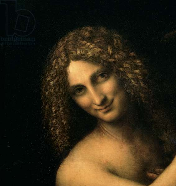 St. John the Baptist, 1513-16 (oil on canvas) (detail of 2015)