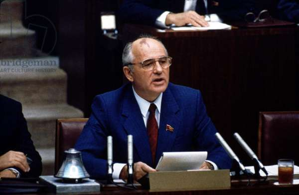 Mikhail Gorbachev while President of USSR