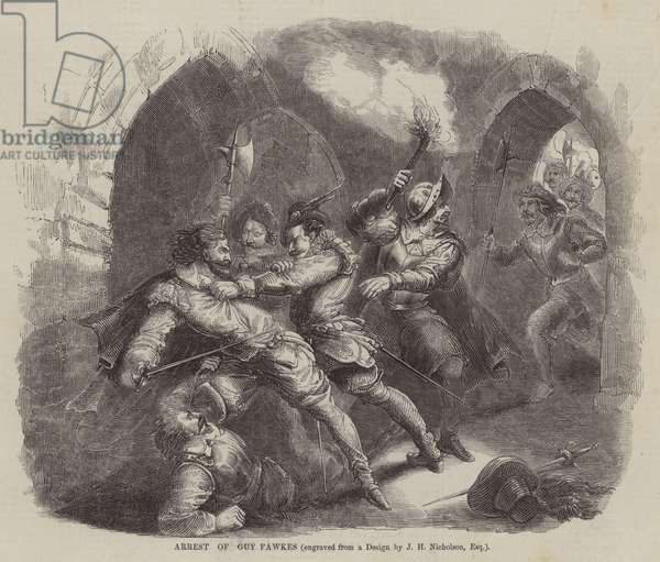 Arrest of Guy Fawkes (engraving)