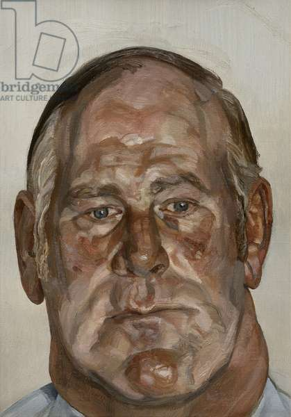 Head of the Big Man, 1975 (oil on canvas)