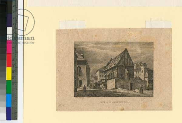 Bacharach on the Rhine, c.1841 (engraving)