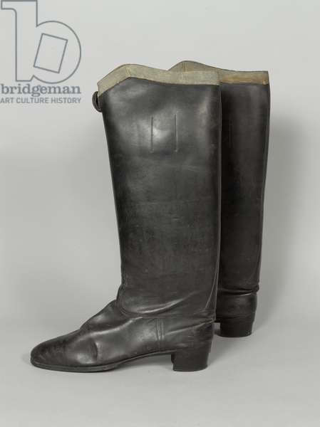 Boots, 3rd von Zieten Hussars, worn by HRH The Duke of Connaught, pre-1914 (boot)