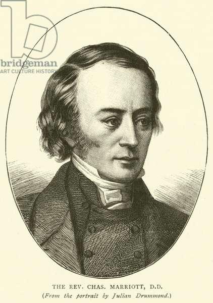 The Reverend Charles Marriott, DD (engraving)