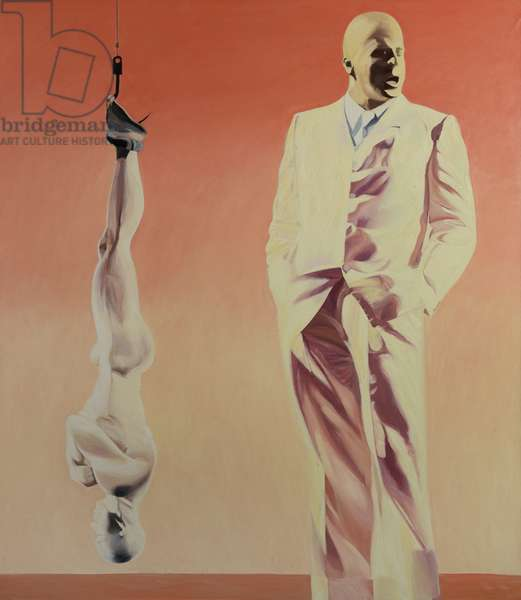 Hanging Man, 1994 (oil on canvas)
