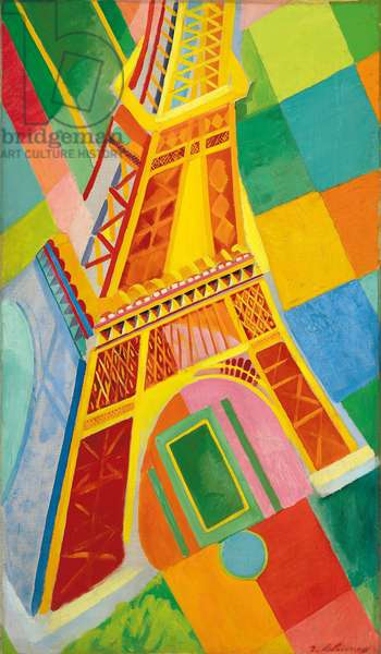 Eiffel Tower, 1926 (oil on canvas)