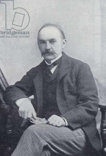 Thomas Hardy (b/w photo)