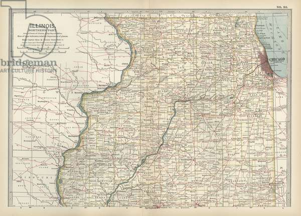 Map of northern Illinois