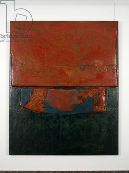 The Dynasty of Colours: Noble Character, 2009 (oil, lacquer & jute on wood)
